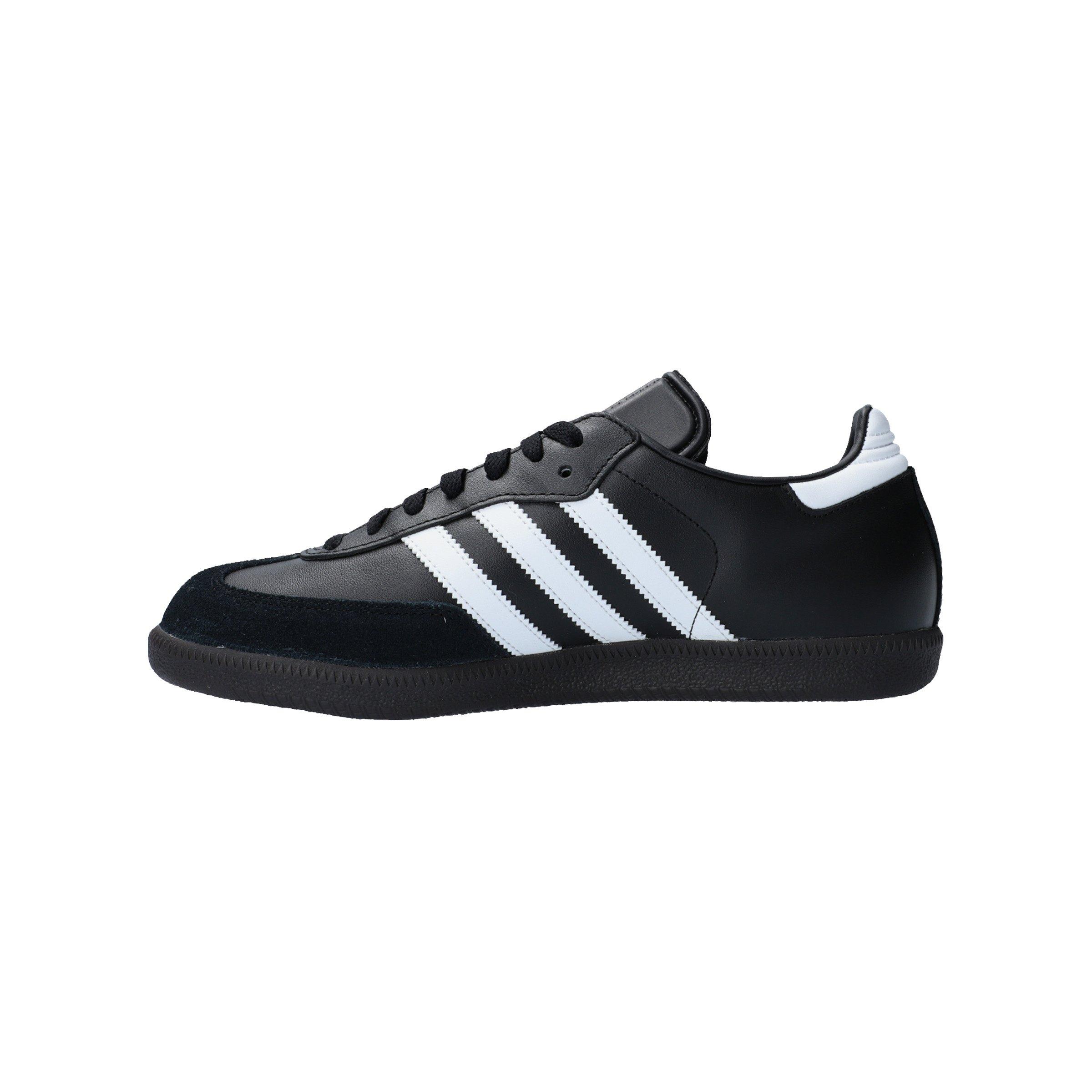 Samba Schwarz Adidas Hallenschuh Leder Weiss RA354qcjLS
