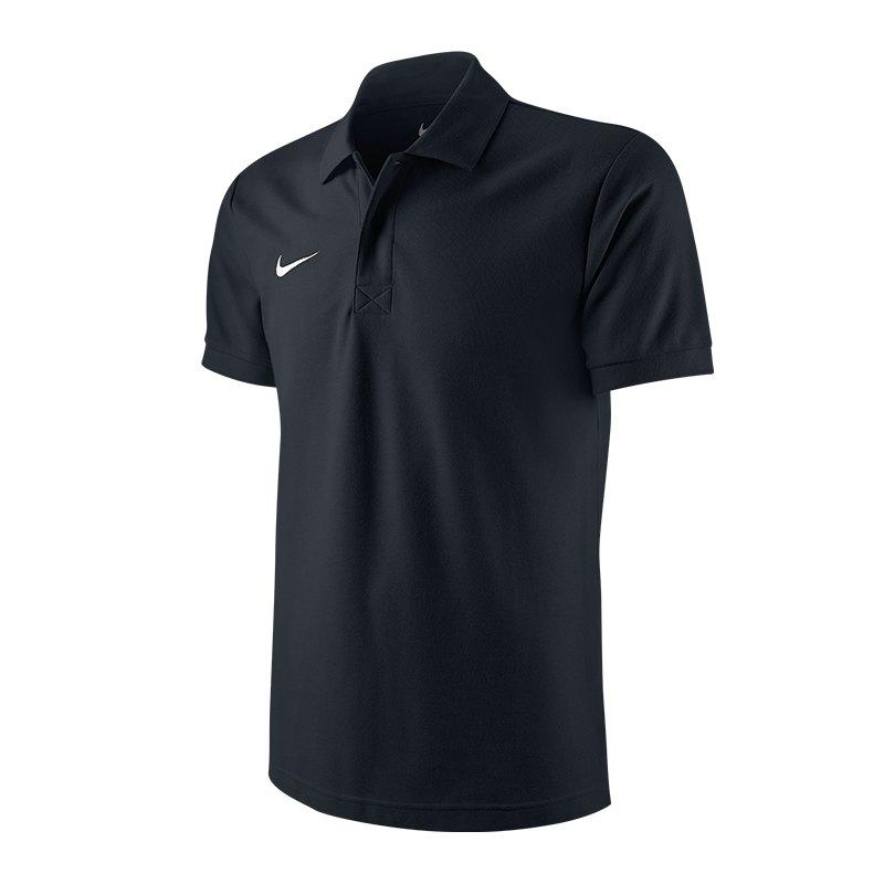 Nike Polo TS Core | schwarz - schwarz