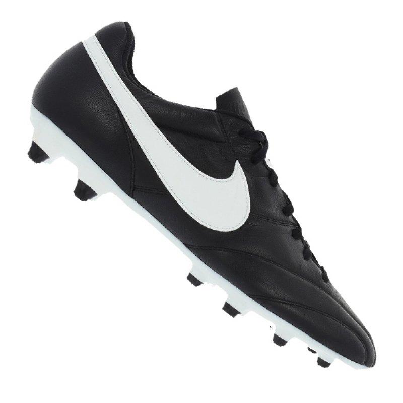 Nike Fußballschuhe The Premier FG   schwarz - schwarz