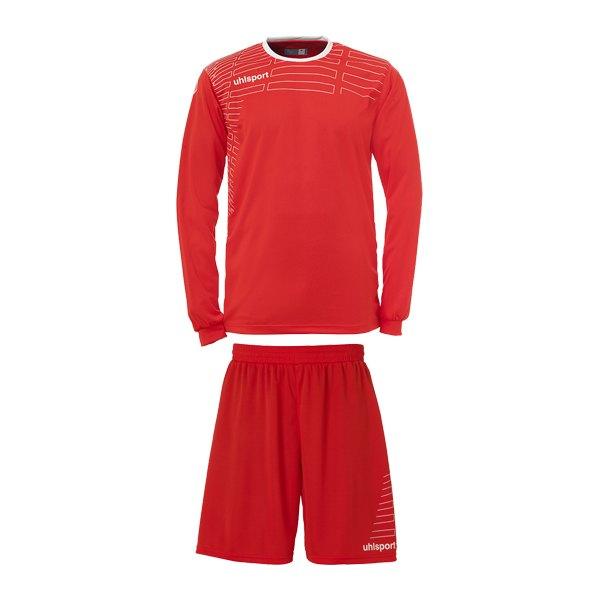 Uhlsport Team Kit Match langarm, Trikot u. Short   rot - rot