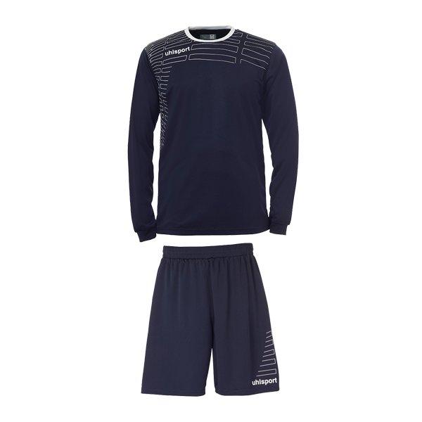 Uhlsport Team Kit Match langarm, Trikot u. Short   marine - blau