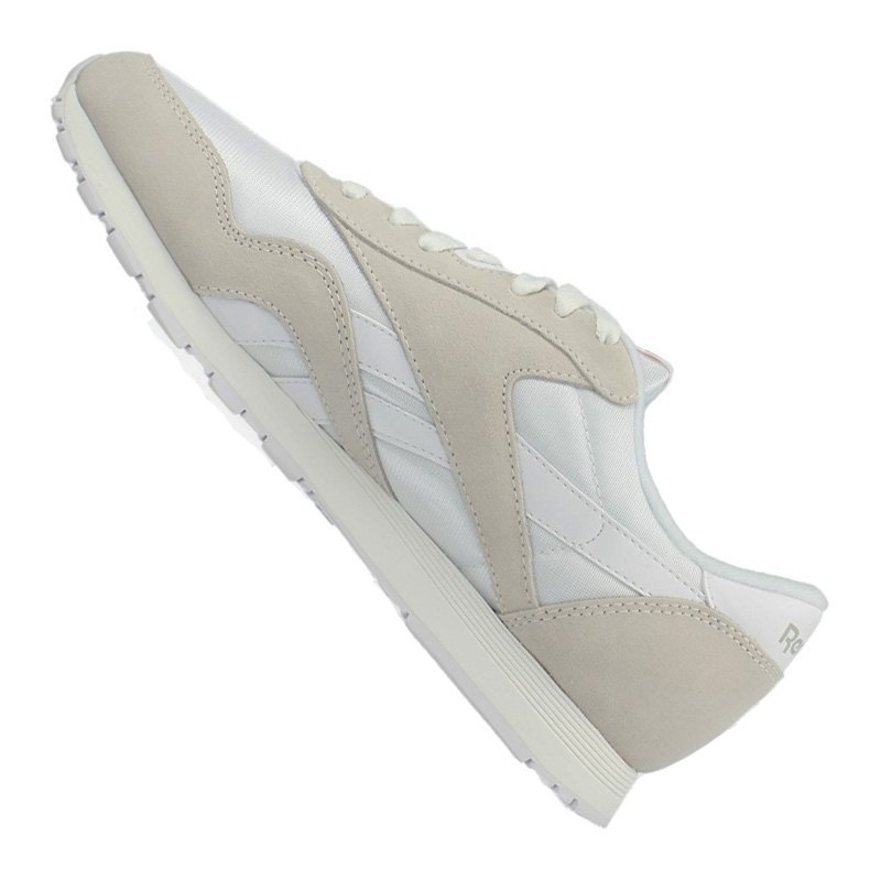 reebok sneaker classic nylon damen wei grau. Black Bedroom Furniture Sets. Home Design Ideas