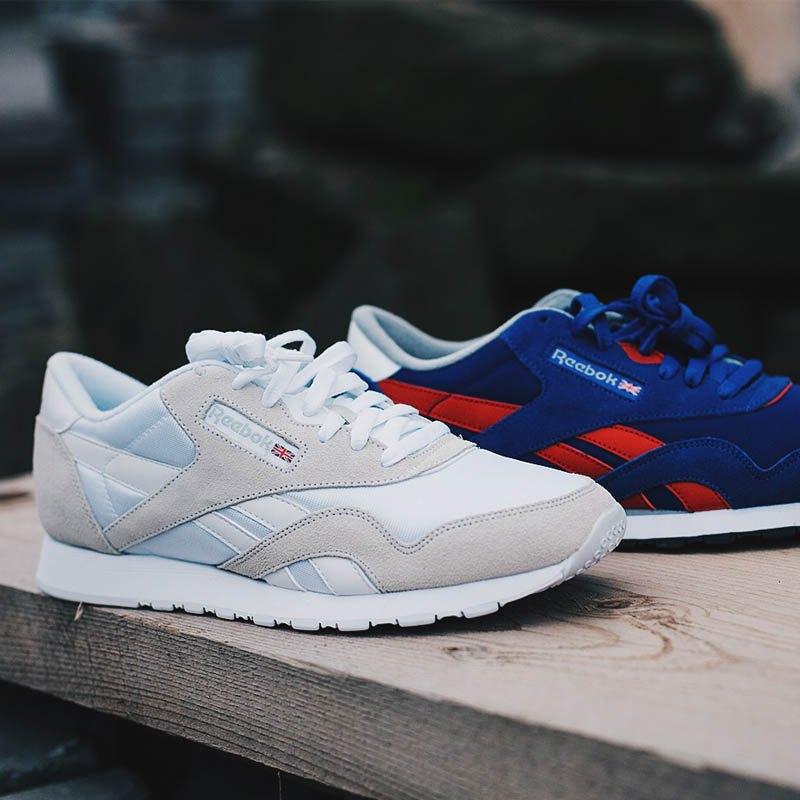 online retailer 84f6e ac71f Reebok Classic Nylon Sneaker Damen