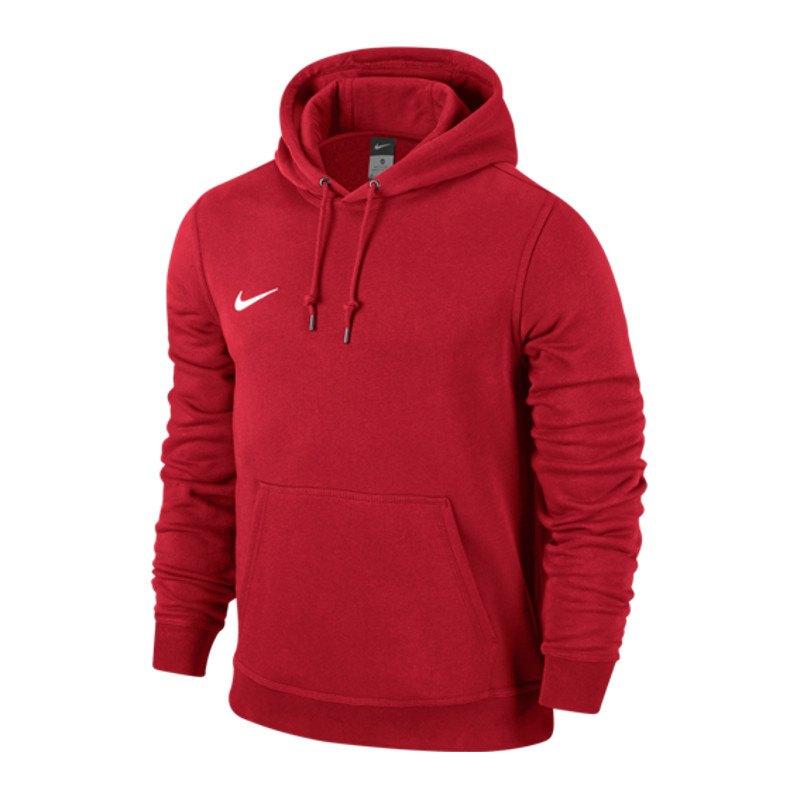 Nike Kapuzensweat Team Club | rot - rot