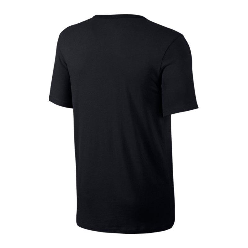 9131cfdb91b5b0 ... Nike Tee-Futura Icon T-Shirt Schwarz F013 - schwarz ...