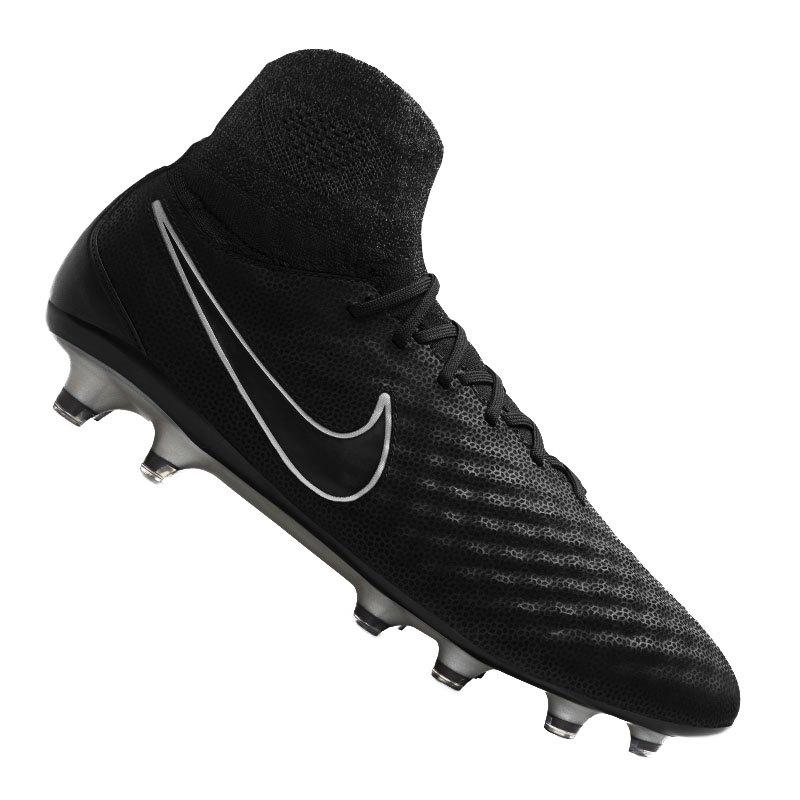 purchase cheap 2aafe 00a2c Nike Fußballschuhe Magista Obra II TC FG  schwarz - schwarz
