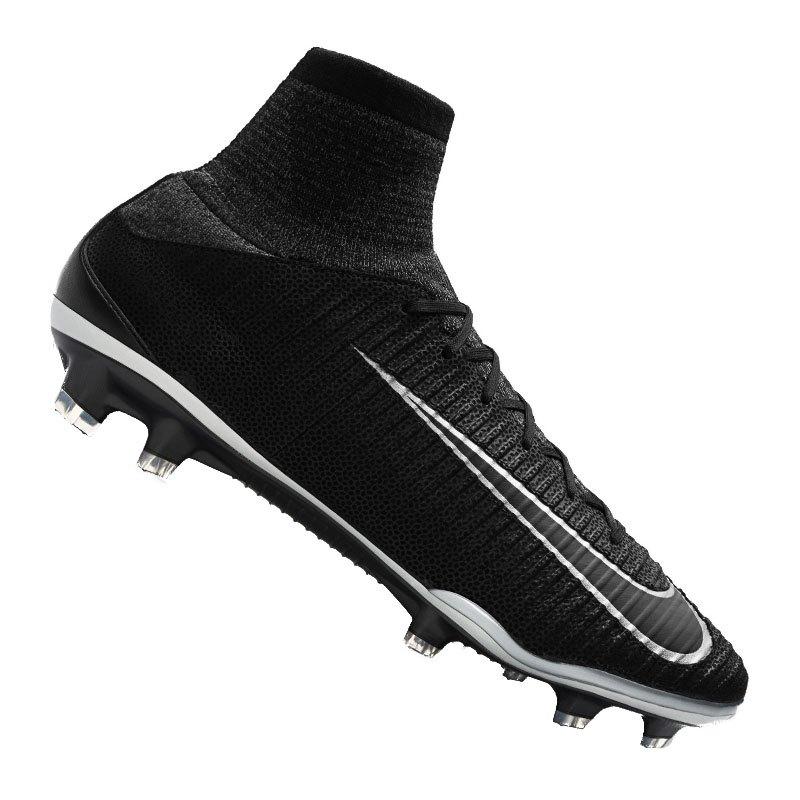 brand new 9334e cd015 Nike Fußballschuhe Mercurial Superfly V TC FG  schwarz - schwarz