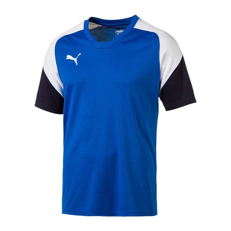 acf82600a0d7 Puma Esito 4 Tee T-Shirt Blau Weiss F02