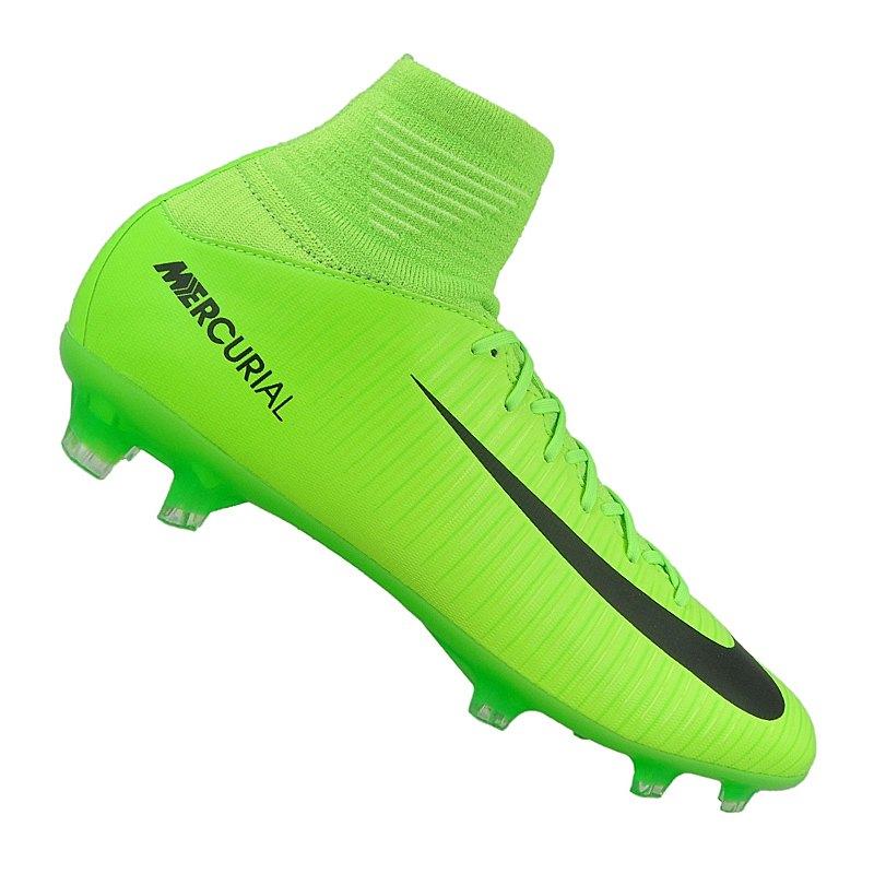 sports shoes 06534 40f6a ... discount nike mercurial superfly v fg kinder fußballschuh grün schwarz  gruen d8b62 b0743