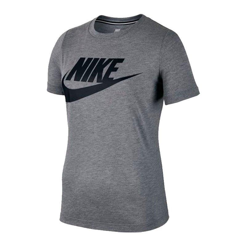 Lifestyle Shirt T Essential Textilien Nike F091 Damen Grau Tee Fw0gWxRqHP