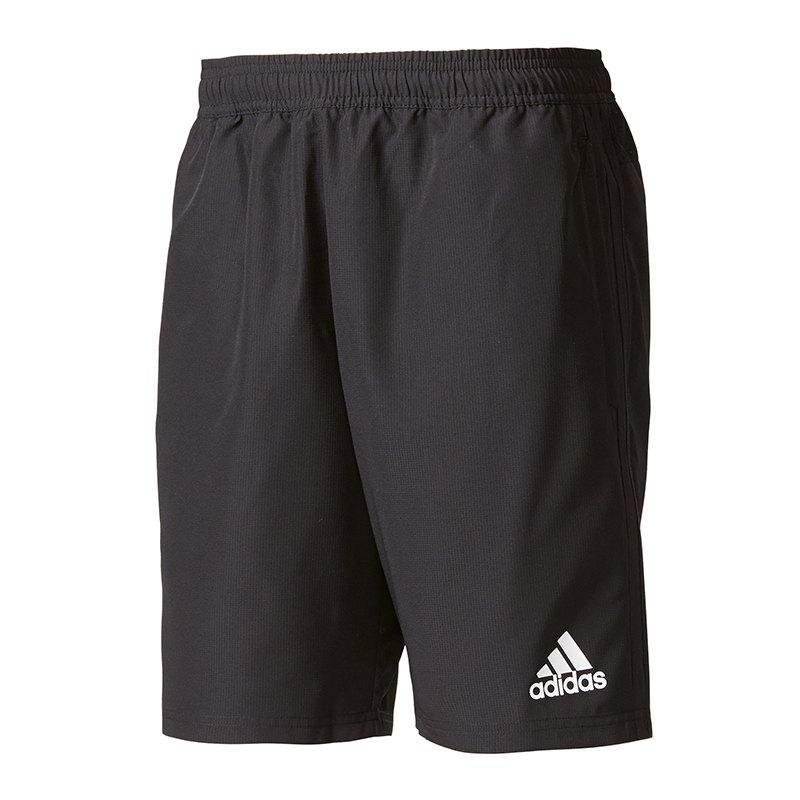 adidas woven short tiro 17 schwarz wei sporthose shorts sport training workout. Black Bedroom Furniture Sets. Home Design Ideas