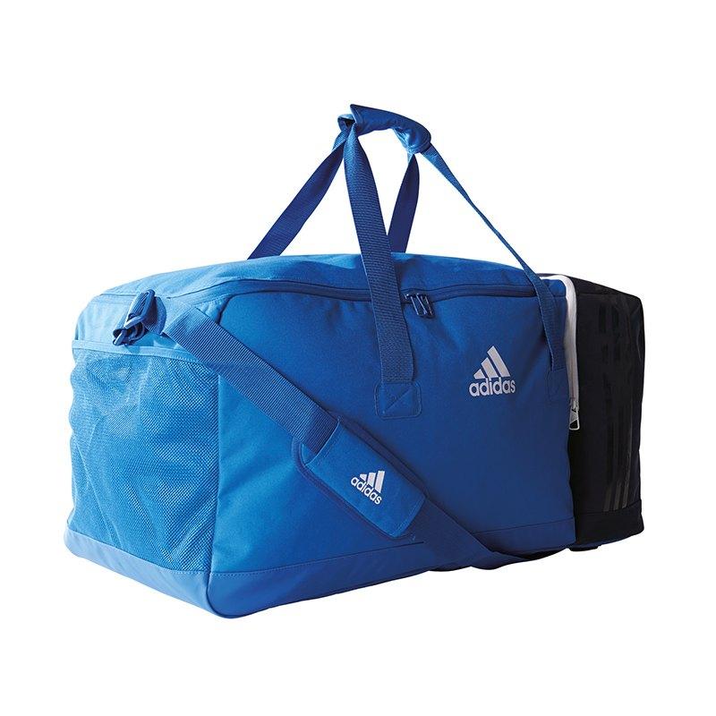 32e2e0b8f17d4 adidas Teambag Tiro L blau weiß