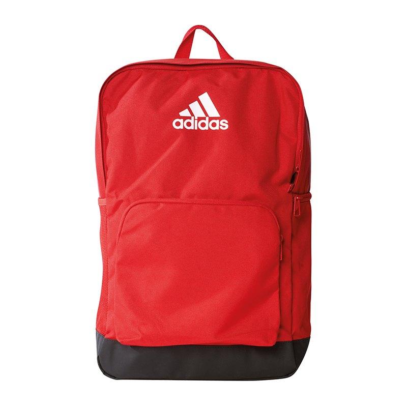 21cca5732debe adidas Tiro Backpack Rucksack Rot Schwarz Weiss