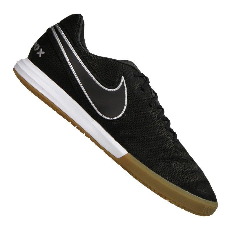 Nike Fußballschuhe Tiempo X Proximo TC IC | schwarz - schwarz