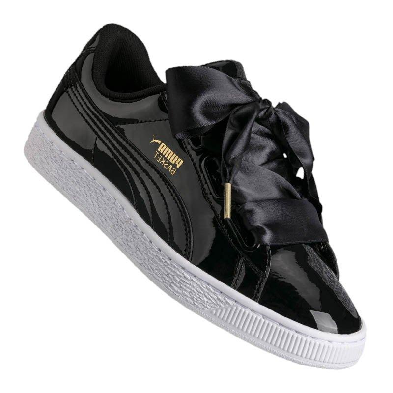 beliebt kaufen 50732 9395e Puma Basket Heart Patent Sneaker Damen F01