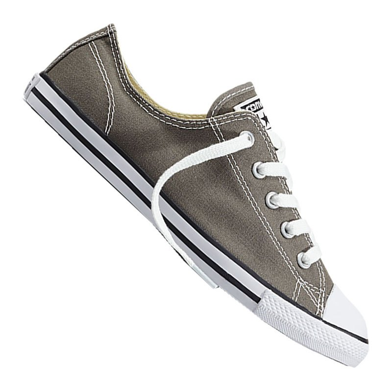 official photos e4c62 7c64f Converse Chuck Taylor AS Dainty Low Damen Grau