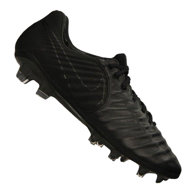 Nike Tiempo Legend VII FG Schwarz F001   - schwarz