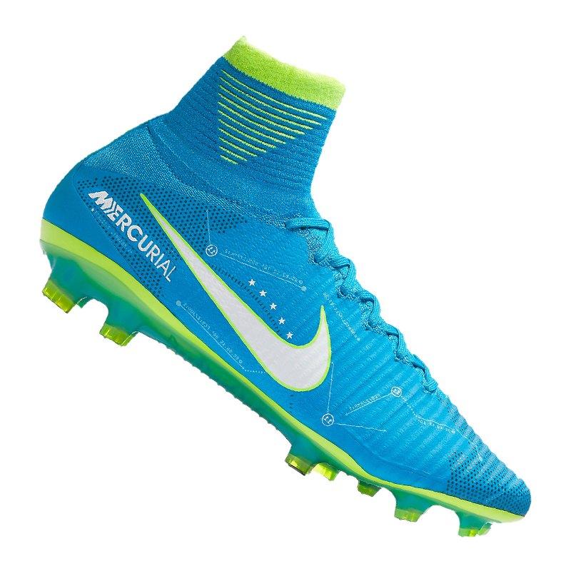 new style e74fa 3e14f ... separation shoes 19ee4 bf3e5 Nike Mercurial Superfly V NJR FG Blau F400  - blau