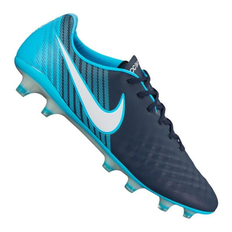 Nike Magista Opus II FG Blau Schwarz F414