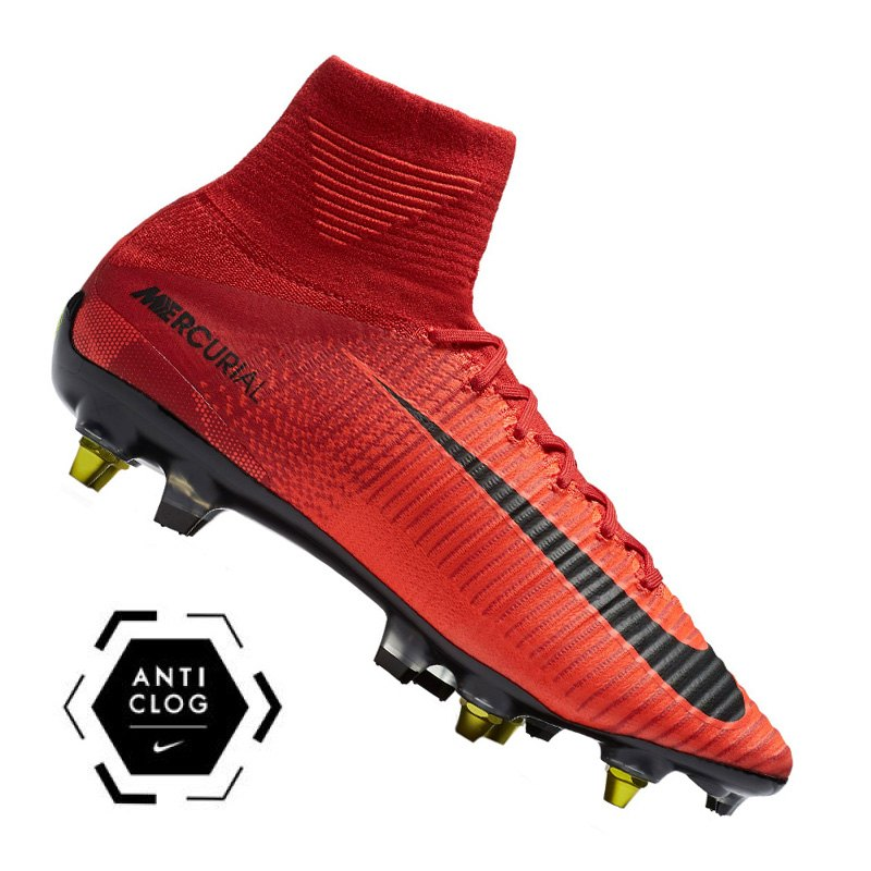 Nike Mercurial Superfly SG-Pro Anti Clog Rot F616 | - rot
