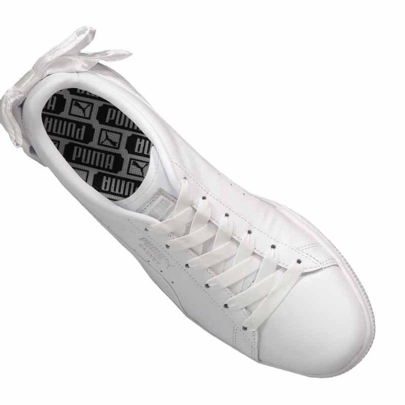c8a81fff536d03 ... PUMA Basket Bow Sneaker Damen Weiss F01 - weiss ...