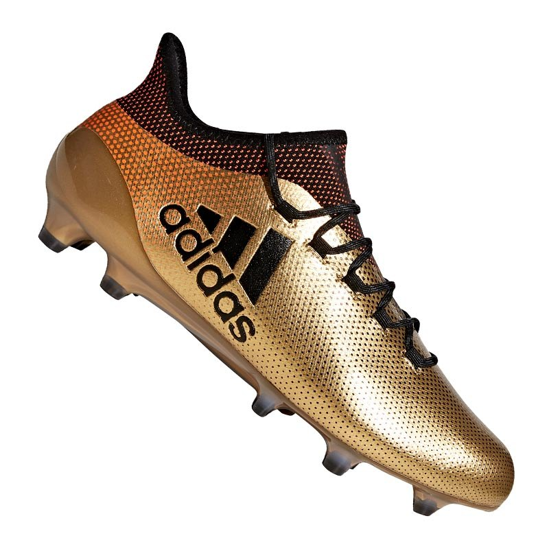 adidas X 17.1 FG Gold Schwarz | - gold