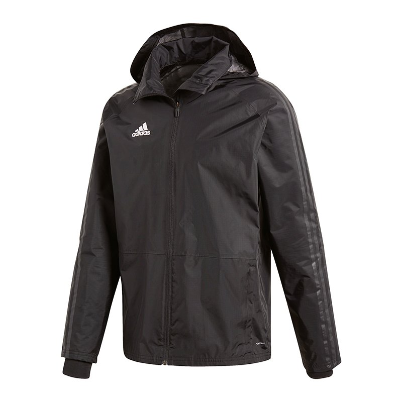 adidas condivo 18 storm jacket jacke schwarz weiss. Black Bedroom Furniture Sets. Home Design Ideas