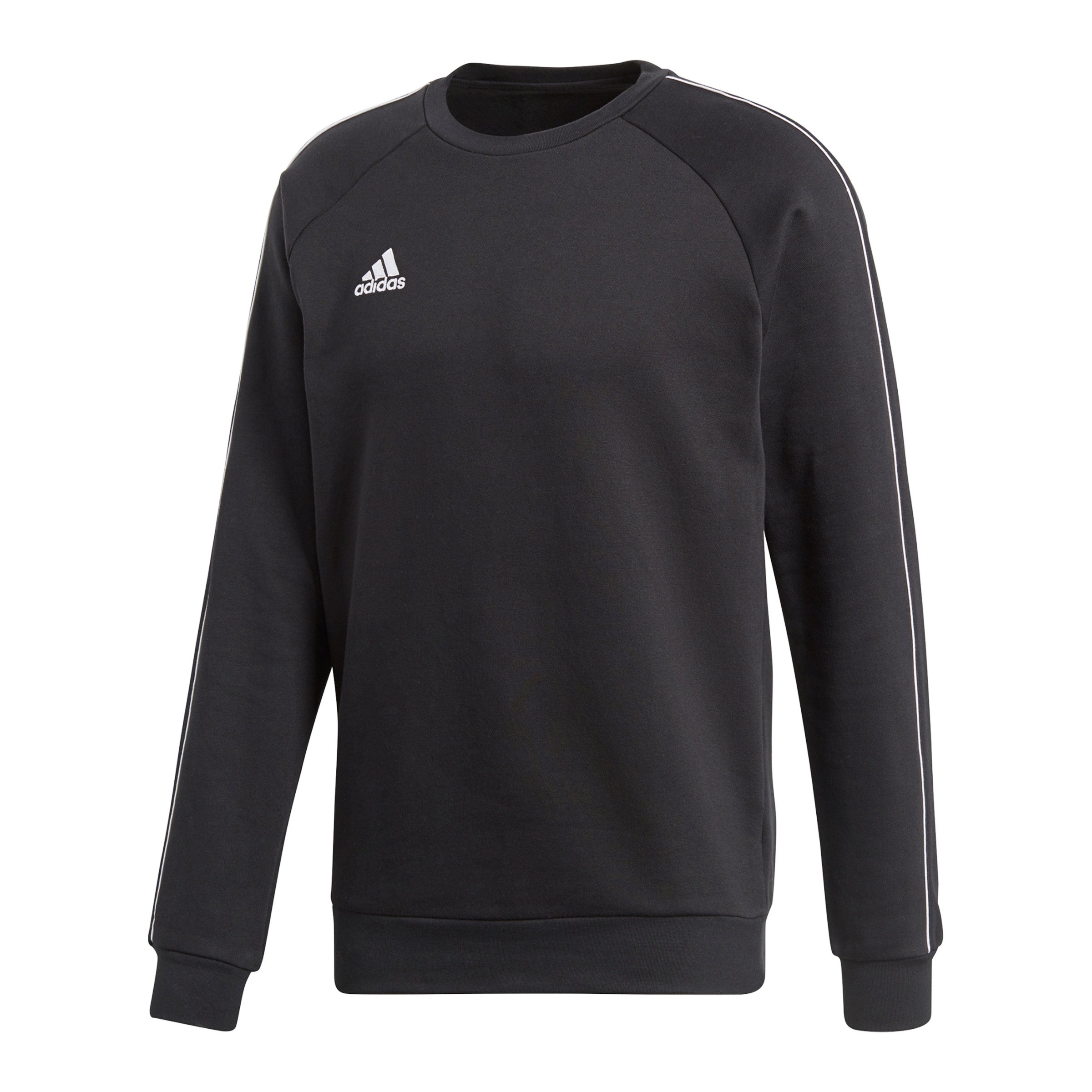 adidas Core 18 Sweat Top Schwarz Weiss   Teamsport   Teamwear ... c5c44e007e