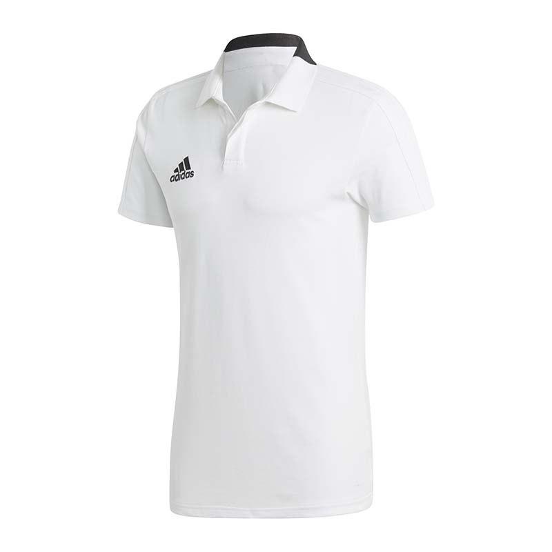 adidas polo shirt weiß