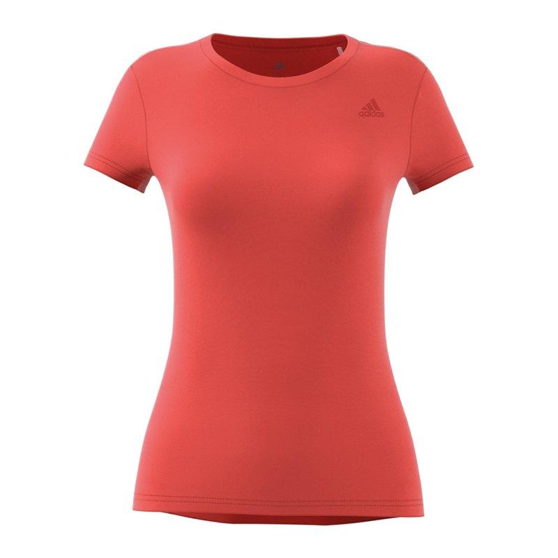 adidas Freelift Prime Tee T Shirt Damen Orange