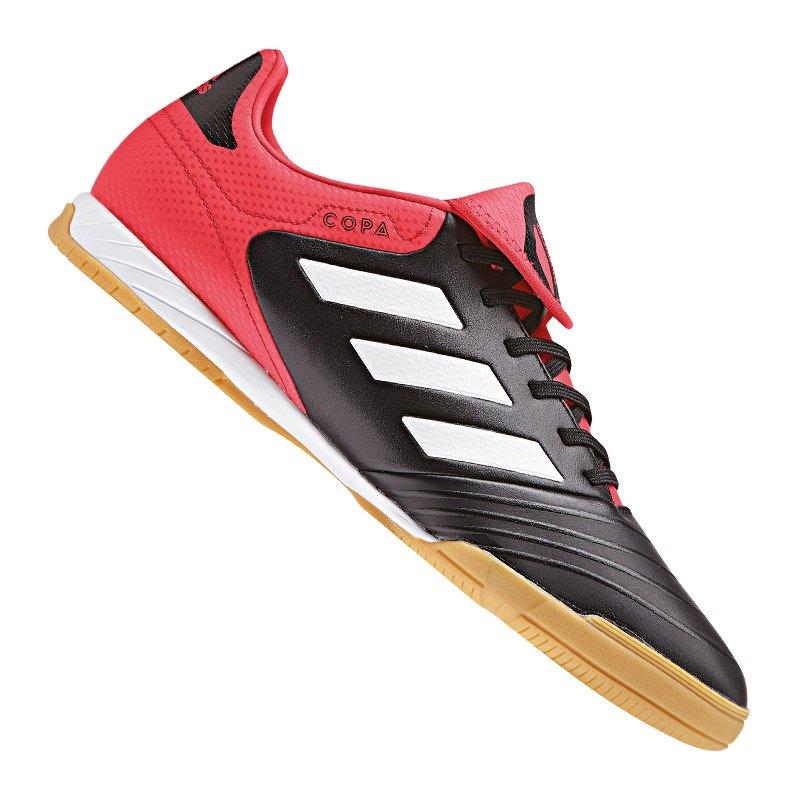quality design b3685 06c4d adidas COPA Tango 18.3 IN Halle Schwarz Rot  - schwarz