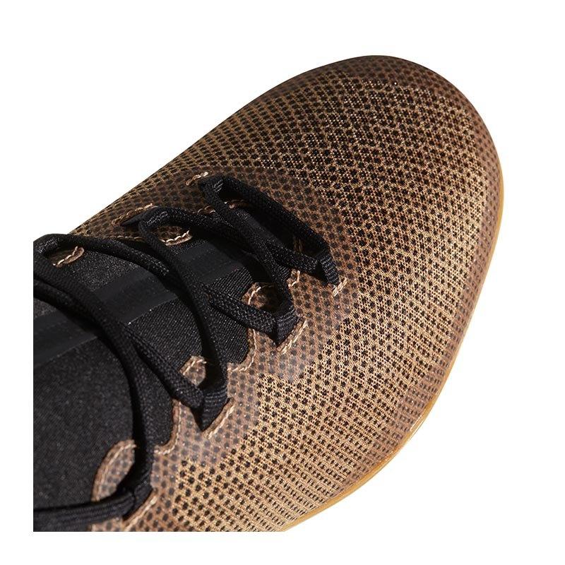 adidas X Tango 17.3 IN Halle Gold Schwarz