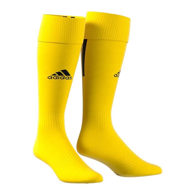 adidas santos 18 stutzenstrumpf gelb schwarz equipment