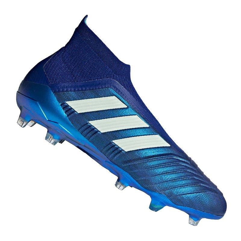 adidas Predator 18+ FG Blau Grün | - blau