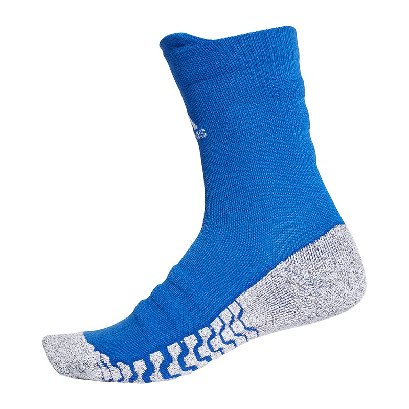 adidas alphaskin traxion cush crew socken blau blau. Black Bedroom Furniture Sets. Home Design Ideas
