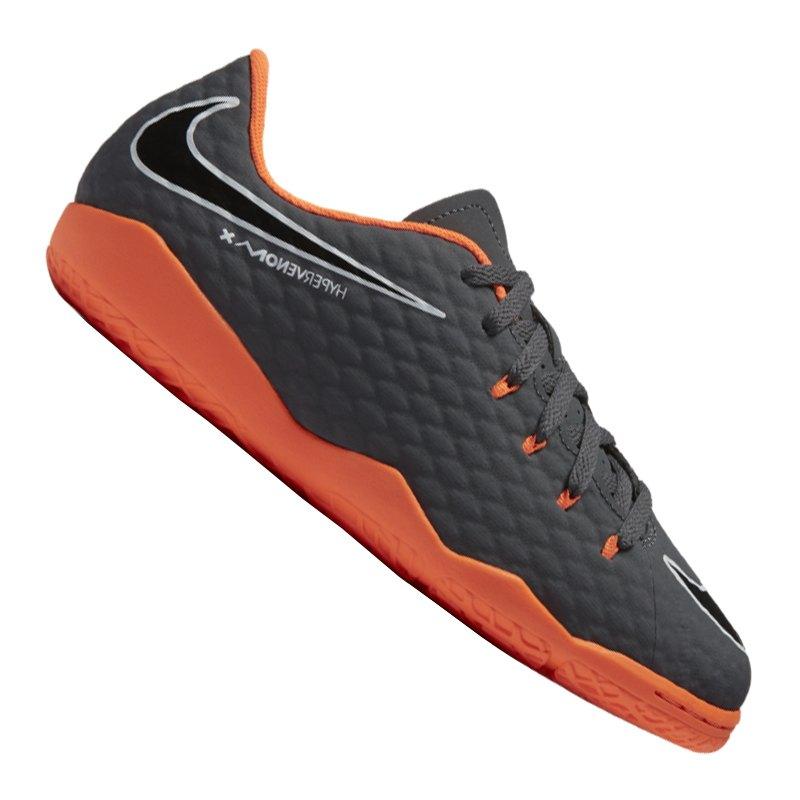 Nike Hypervenom PhantomX III Academy IC Kids F081 | - grau