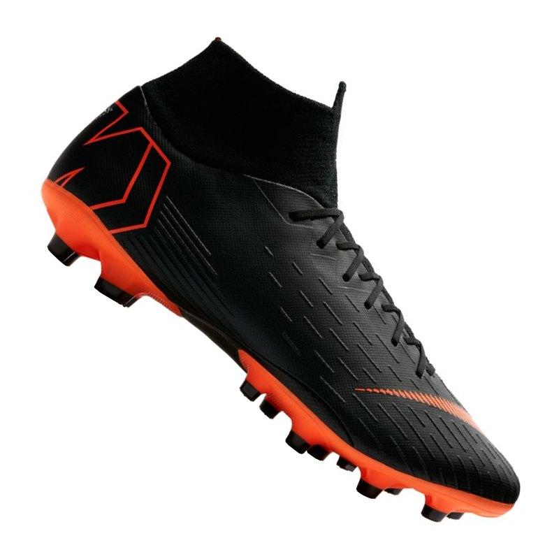 Nike Mercurial Superfly VI Pro AG-Pro Schwarz F081 | - schwarz