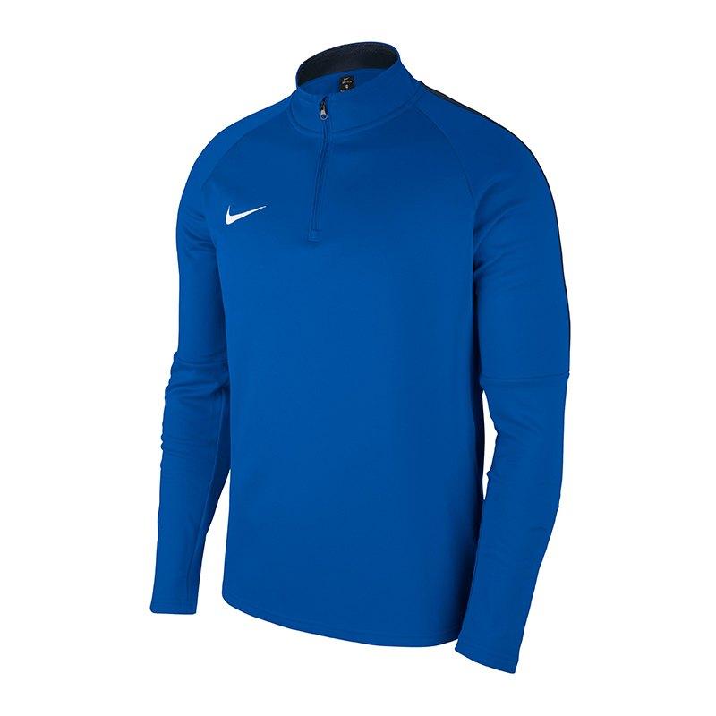 nike langarm shirt herren blau