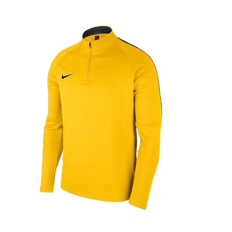 Nike Academy 18 Hoody Tour Yellow Anthracite