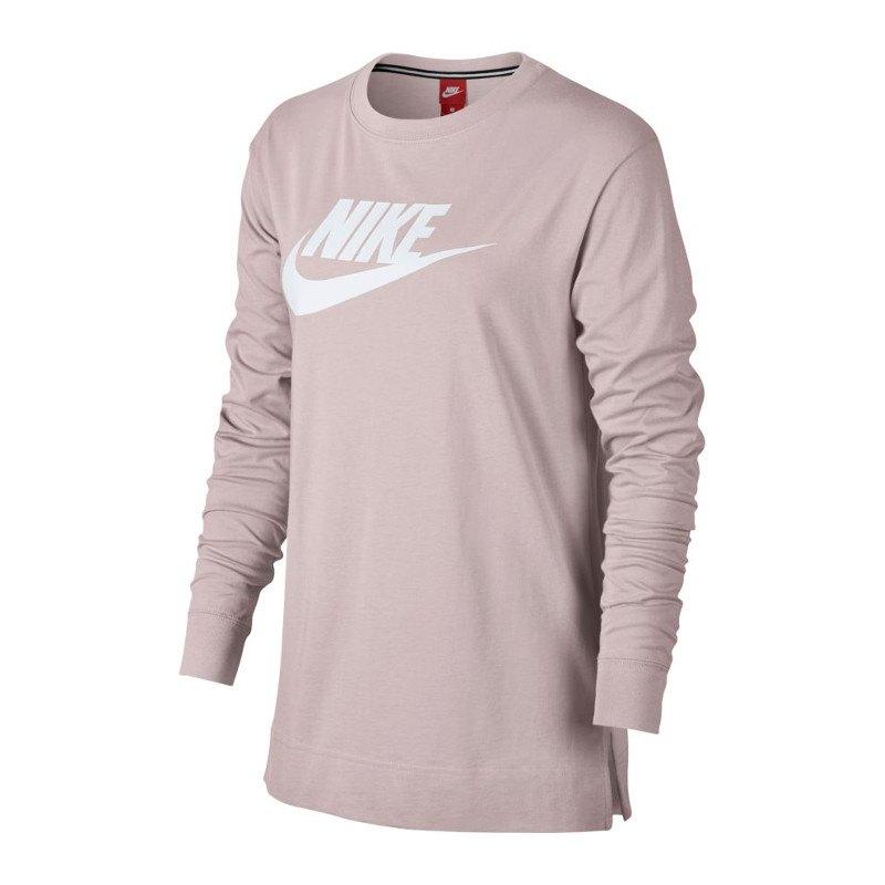 promo code 6e287 02ef5 Nike Hybrid Sweatshirt Damen Rosa F699