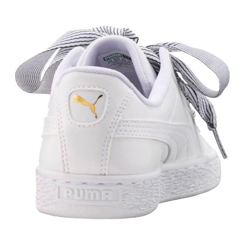 puma basket heart sneaker damen weiss f03 turnschuhe women lifestyle damenschuh. Black Bedroom Furniture Sets. Home Design Ideas
