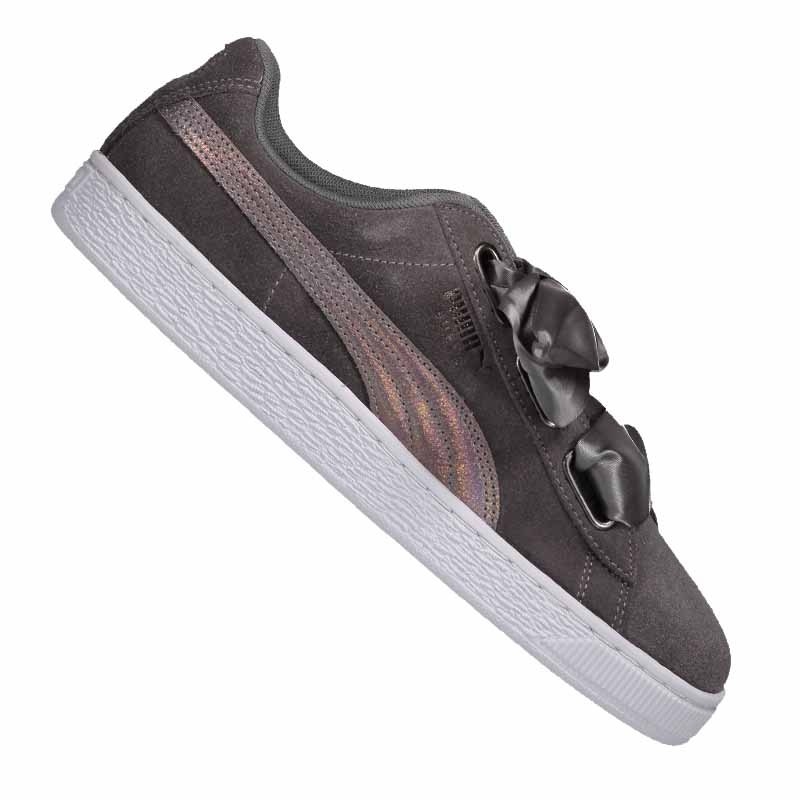 PUMA Damen Suede Heart Lunalux Sneaker