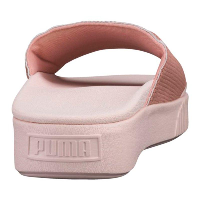 Puma Platform Slide EP Badelatsche Damen Rosa F01