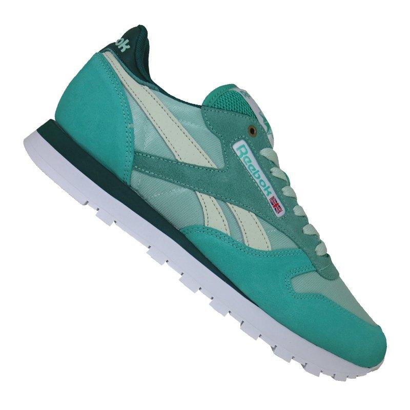 official photos e286a 2f321 Reebok Classic Leather MCCS Sneaker Blau