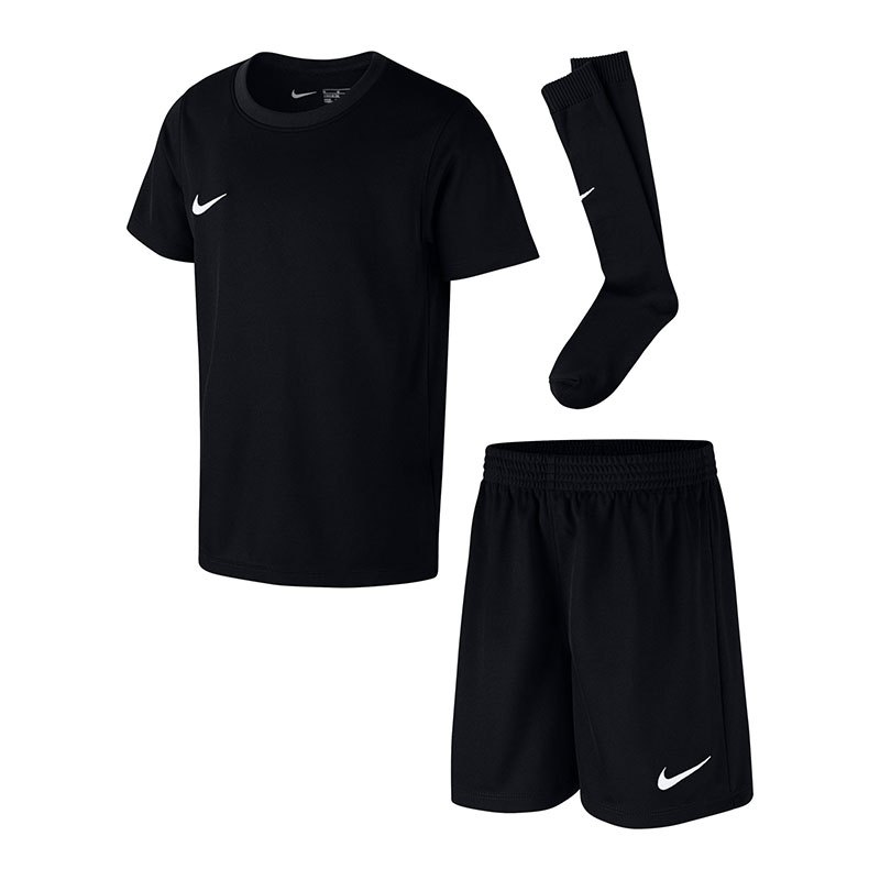 Nike Dry Park Kit Trikotset Kids Schwarz F010 | - schwarz