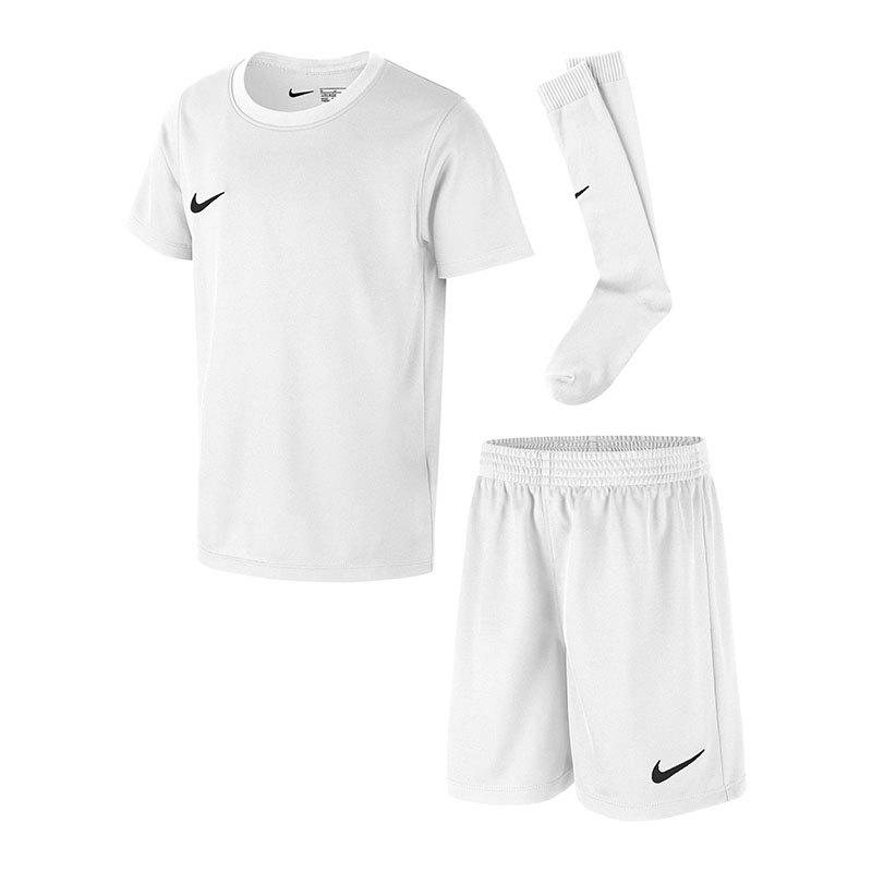 Nike Dry Park Kit Trikotset Kids Weiss F100 | - weiss