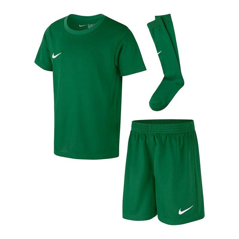 Nike Dry Park Kit Trikotset Kids Grün F302 | - gruen
