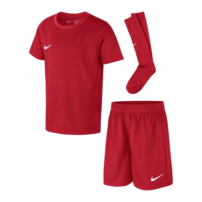 Nike Dry Park Kit Trikotset Kids Rot F657 | - rot
