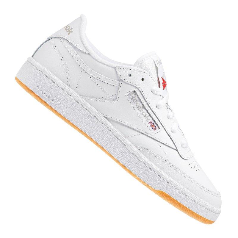 new product 3f52c 102f0 Reebok Club C 85 Sneaker Damen Weiss   - weiss