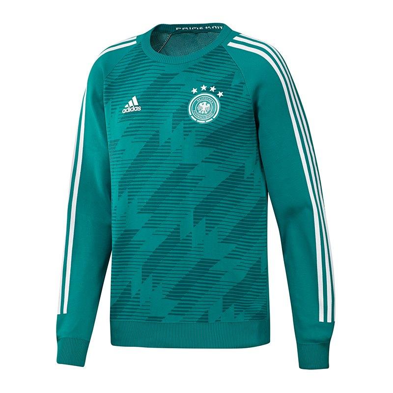 adidas DFB Deutschland Sweatshirt Away Knit Grün - gruen